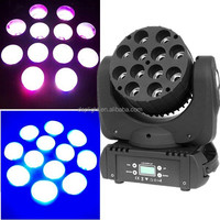 New Pro 12x10W RGBW (4in1) LED Beam and Flower Moving Head VIKY Lighting