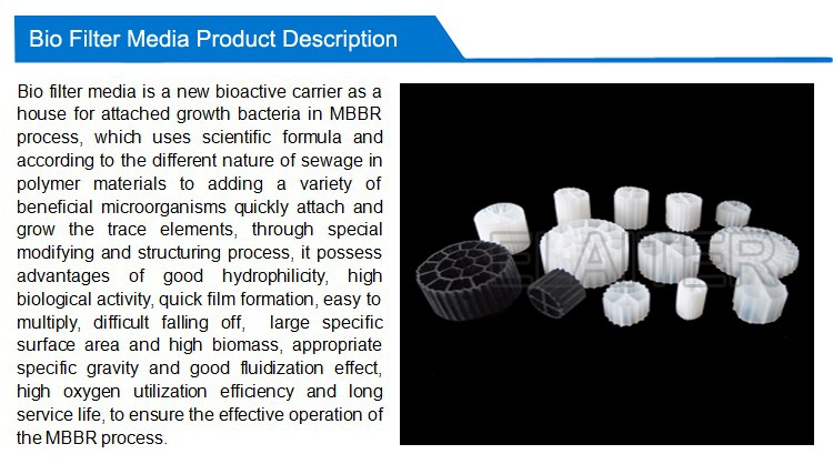 Kaldnes floating aquarium bio filter media & FAB Koi biofilm carrier pack media