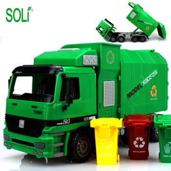 Garbage truck toys car for kids plastic toy car toys