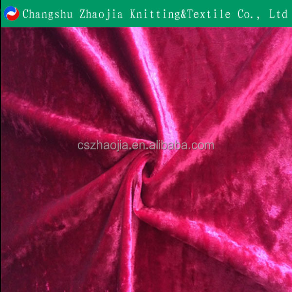 China manufacture with 10 year experienceFashion new style ice velvet warp knitted ice velvet shiny fabric