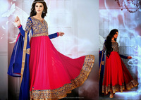 New Anarkali Stylish Designer Heavy Designer Salwar Suits 2013