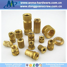 factory brass barrel nuts/metal plastic insert for plastic mould