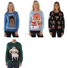 Wholesale Unisex Knitted Pullover Ugly Christmas Sweater