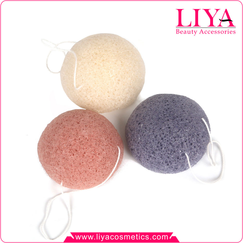 Hot sale 100% natural skin care Konjac sponge for cleaning face