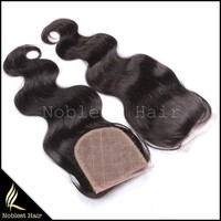clip in lace closure,natural color body wave 12''~20'' wholesale price