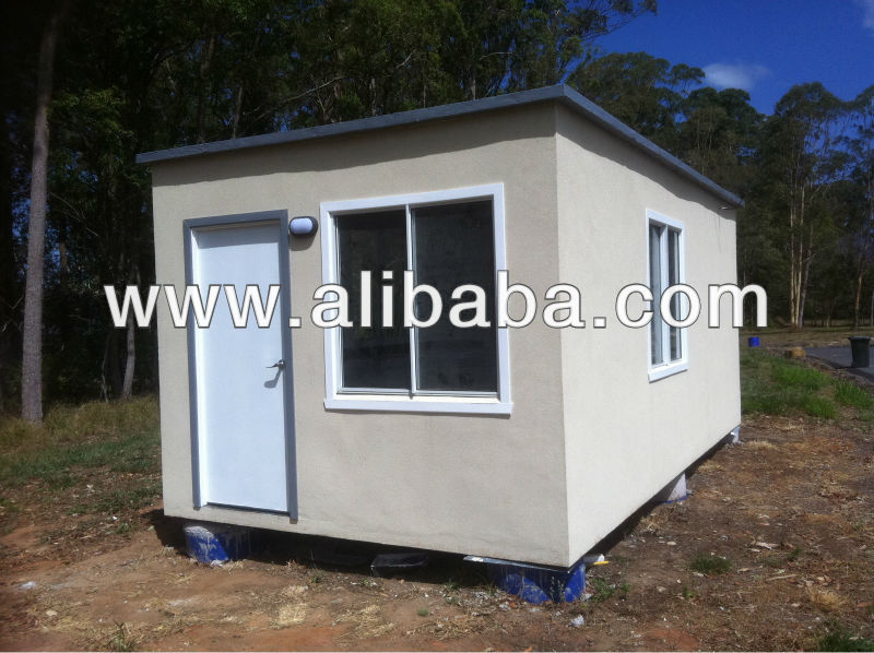 transportable lightweight structural insulated concrete modular buildings