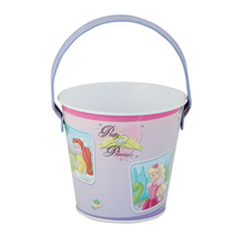 Chrismas Gift Children Toys Small Tin Bucket With Window