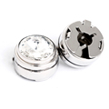 New design diamond covered clothing buttons cufflink