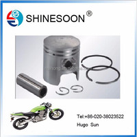 2015 good price pistonmotorcycle piston and ring kit , motorcycle engine part