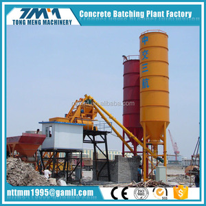 HZS25 Mini ready mixed concrete batching plant