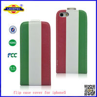 Unique Ultra Slim Phone Case Version 2014 World Cup Printing Cover For Iphone 5 Laudtec
