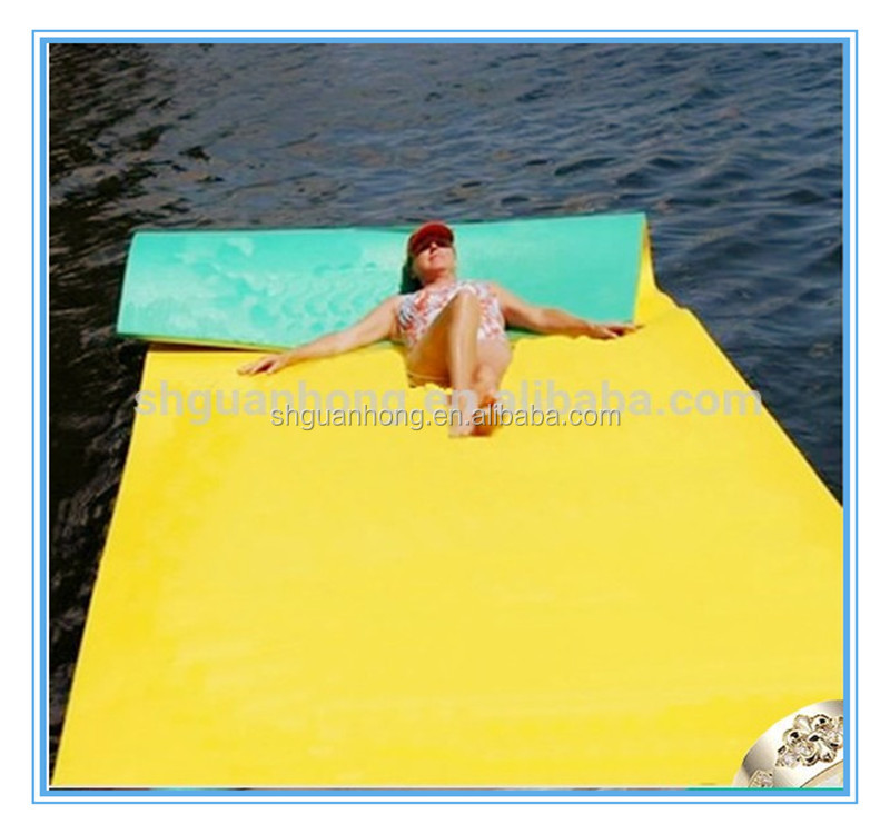 Large size Nontoxic PE Foam Water playing Mat