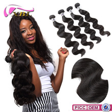 XBL wholesale Top Quality 100% Unprocessed Brazilain Body Wave Hair