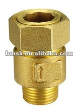 Brass Water Meter Stretch And Shrink Check Valve