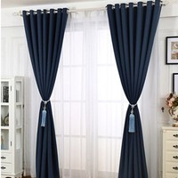 anti-static 3 pass flocked blackout fabric for curtain