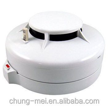 CE Approved Alarm Security System Combination Smoke and Heat Detector