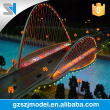 Concept model for architectural design, Bridge model for construction and real estate