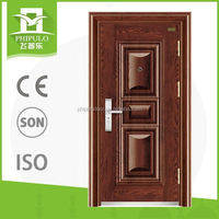 luxury design fashion entrance metal iron door with best price