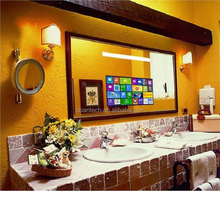 Touch Screen Bathroom fog-proof wall mount Magic Mirror tv