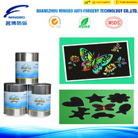 uv offset printing SC1604-A scratch ink by Mingbo printing card