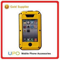 [UPO] New Arrival Shockproof Defender Metal Bumper Phone Covers Case for iPhone 4 4s