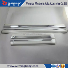 Car Accessorise Stainless Steel Side Moulding Cover Trims For 2014 Toyota Land Cruiser Prado