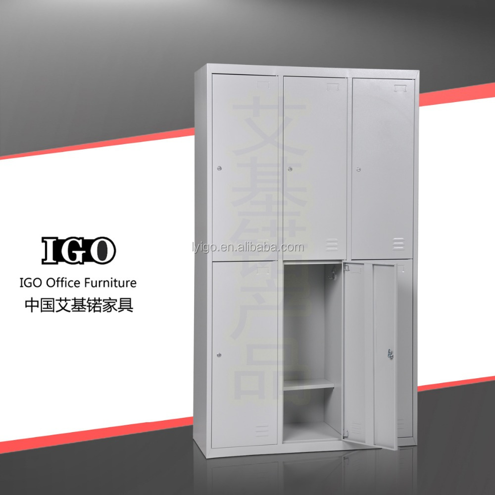 School students clothing ikea furniture 6 door dormitory for Metal lockers ikea