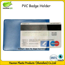 Fashion frosted pvc bank card holder for sale