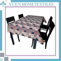High Level Gobelin Ruffled Wrinkle Free Hotel Table Cloth