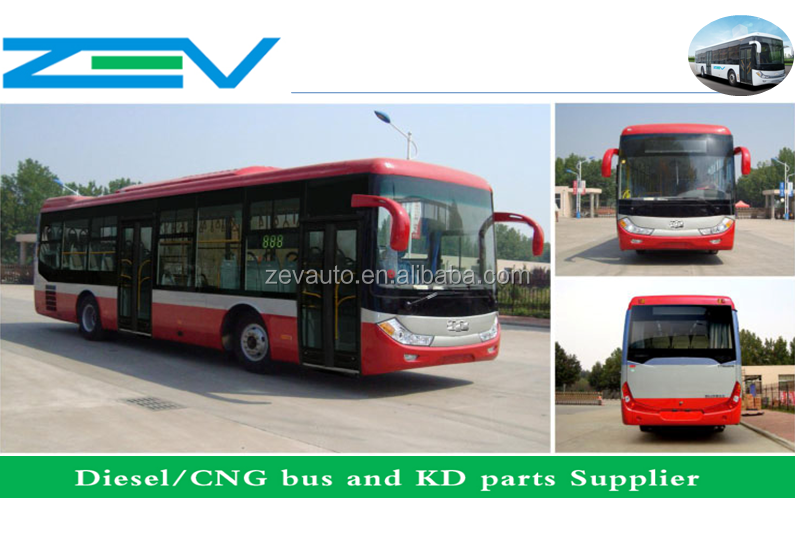 ZEV AUTO 12m city bus China Experience bus Manufacture