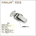 stainless steel or steel wooden case buckle A11