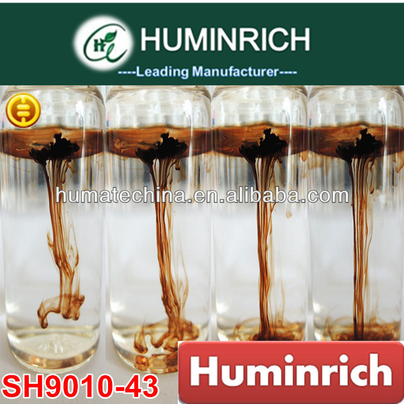 Huminrich Shenyang SH9010-43 60HA+25FA+10K2O organic fertilizer Seaweed extract liquid Used by spraying and irrigation ""