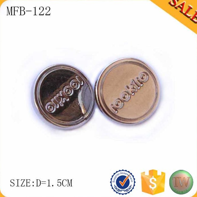 MFB122 Fashion dome sewing spring buttons for fur coat Brightness