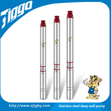 4ST2 2015 TIGGO new good quality stainless steel 2hp irrigation centrifugal submersible deep well electric motor water pumps
