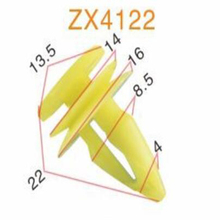 ZHIXIA BRAND Auto body Clip/Automobile spare parts car clips/auto plastic fasteners and clips