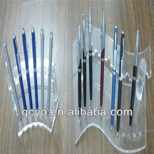 2014 the bes selling single acrylic hanging pen holder