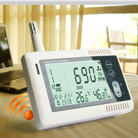 Desktop CO2 Monitor With Bluetooth Temperature