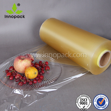 PVC stretch cling wrap film for food packing