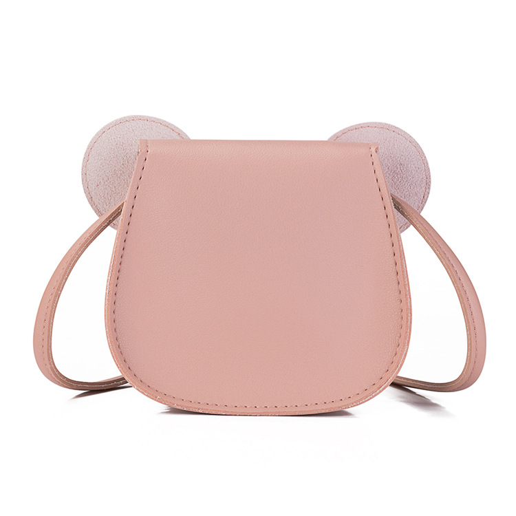 Heopono Cute Small Crossbody Satchel Good Quality Children PU leather Funky Kids Girl Messenger Bag