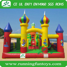 Giant Inflatable bouncy castle, fun city type inflatable entertainment combo