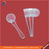 Hot selling most popular eco-friendly 5g cheap plastic scoop/custom coffee spoon/colorful tea spoon