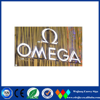 High bright small acrylic letters lumion sample advertising letter