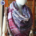 factory wholesale ladies classic style cashmere scarf C12085 high quality cashmere shawl