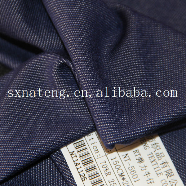 soft spandex RT knitted denim fabric