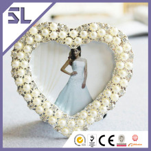 Heart Shape Pearl Baby 12 Month Photo Frame Wholesale Made in China
