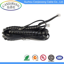 Wholesale Promotional all Types Indoor Home Telephone Cable RJ45 Spiral Cable