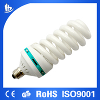 65W 14.5mm Full Spiral high wattage CFL 10000H CE QUALITY good quality
