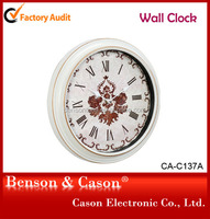 Classical Wall Clock Promotional Plastic Design
