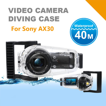 Underwater Video Camera Housing For Sony FDR-AX30