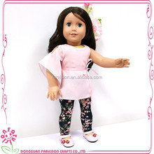 Wholeslae silicone child pvc nude doll with curly doll wig